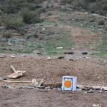 The second shooter site marked with orange